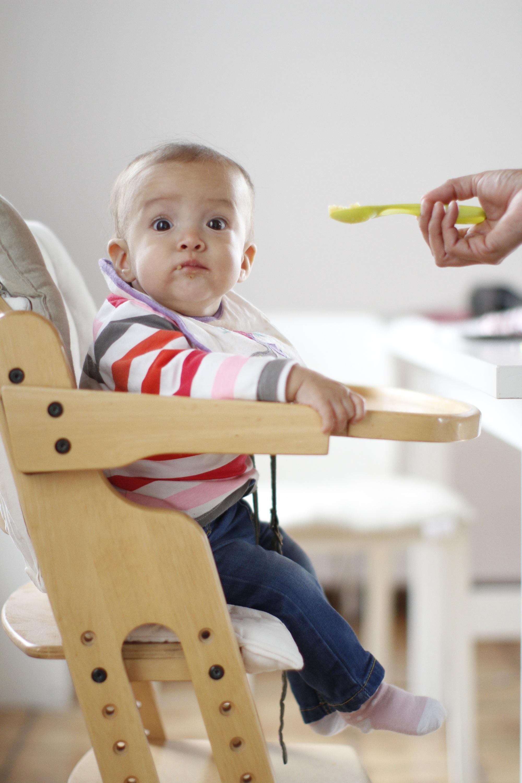 Elecci n de la silla para comer de tu beb mama de luz - Silla de mesa para bebe ...